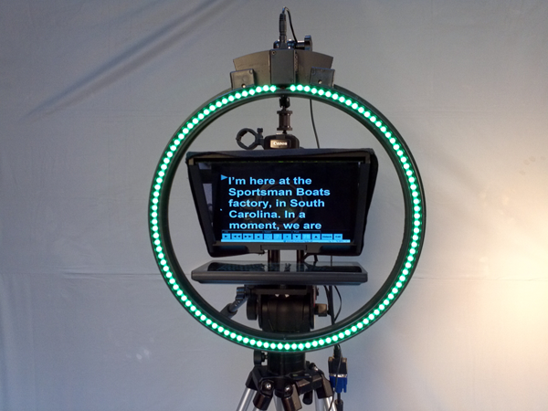 Teleprompter LED Chromakey Kit