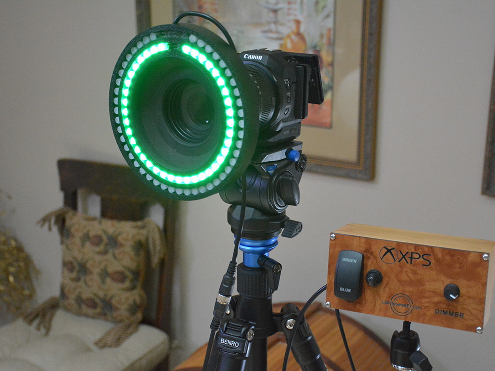 Dual Color Standard Light Ring with Remote Controller