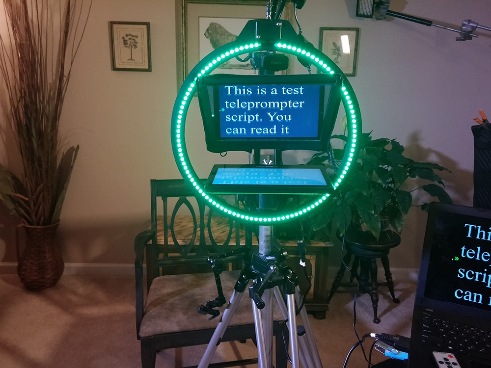 Patent Pending Teleprompter System